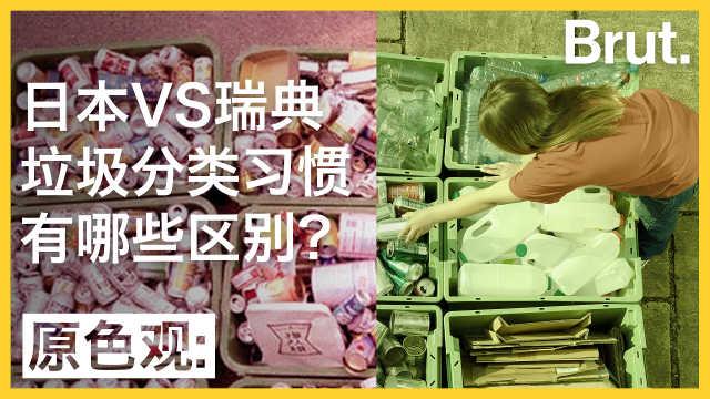 日本和瑞典的垃圾分类有哪些不同?