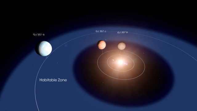 NASA发现超级地球,或可维持生命