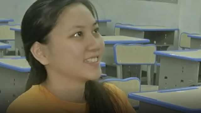 广东首个!盲人女孩参加高考被录取