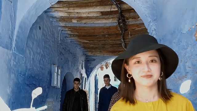 摩洛哥舍夫沙万,蓝白色调的梦幻城