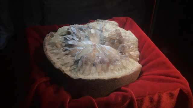夫妻游20国集奇石,最古老距今6亿年