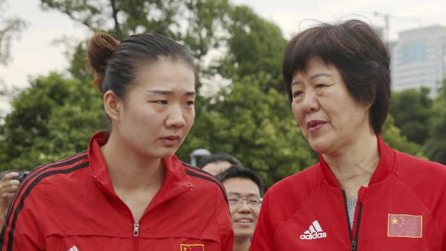 前中国女排队员使用兴奋剂禁赛四年