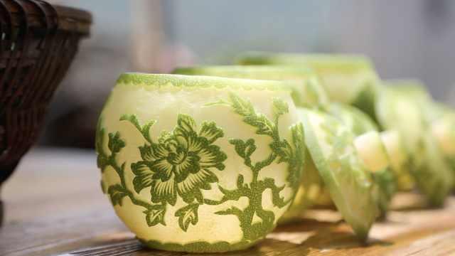 湖南靖州雕花蜜饯:舌尖上的艺术品