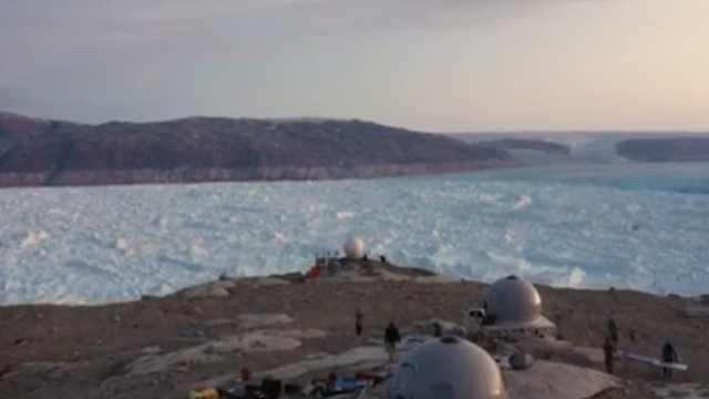 触目惊心!格陵兰冰川6年退10厘米
