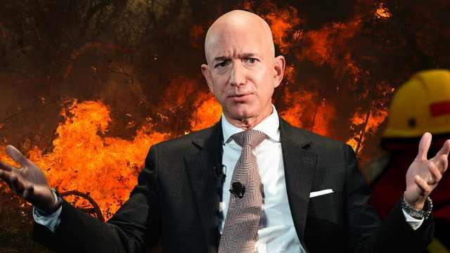 全球网友喊话贝索斯去救亚马逊大火