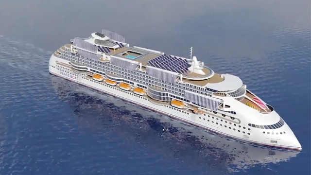 全球最环保游轮,全部采用新能源!