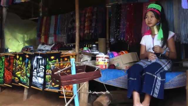 来到泰国长颈村,脖子长得逆天了