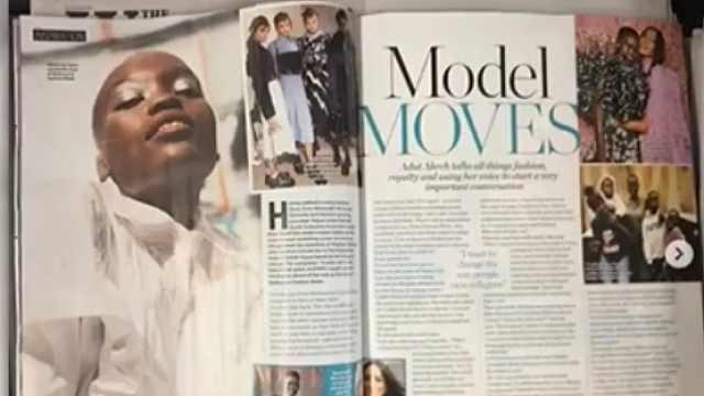 杂志登错黑人超模照片被批种族歧视