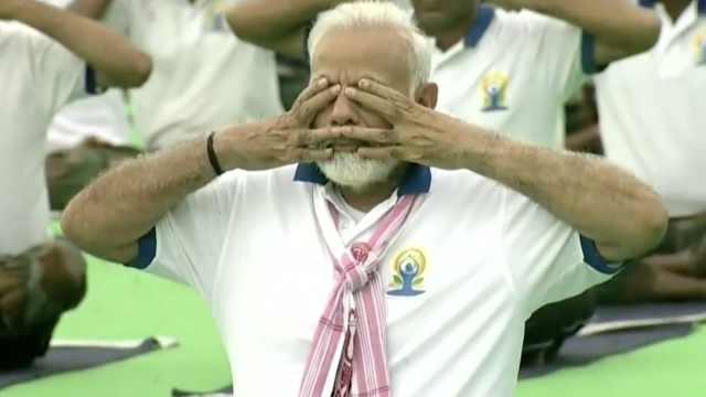 印度总理发起全民减肥健身运动