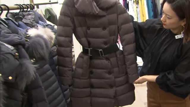 十月将开始增税,日本商场开卖冬装