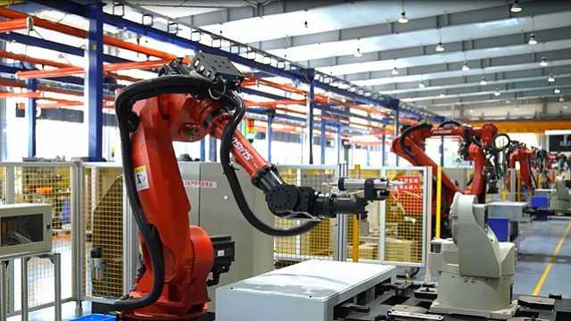 这条机器人生产线火了