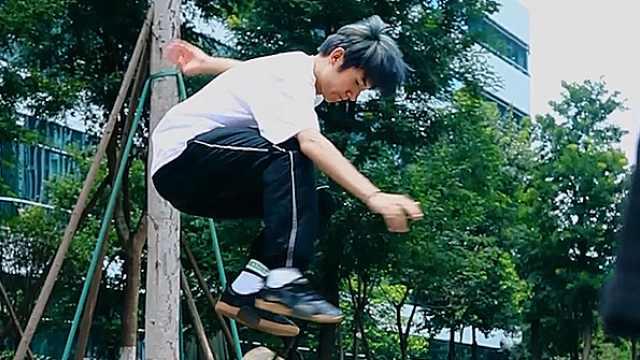 学滑板的诀窍,快来get!