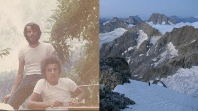 冰川失踪43年,好友找到登山者遗体
