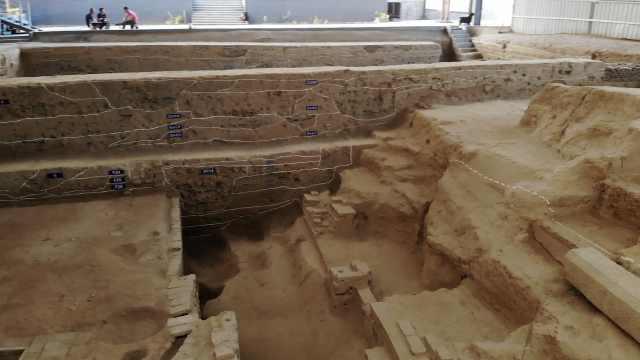 考古工地开放,成市民