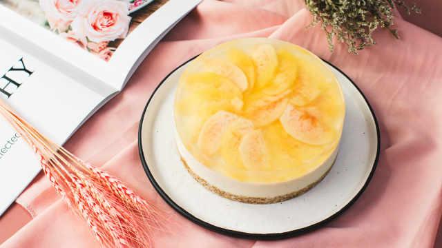 可盐可甜,蜜桃芝士蛋糕全给你!