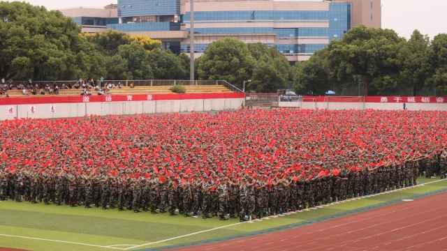 热血!8000人合唱《我和我的祖国》