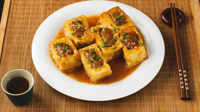 客家酿豆腐,做法简单又入味!
