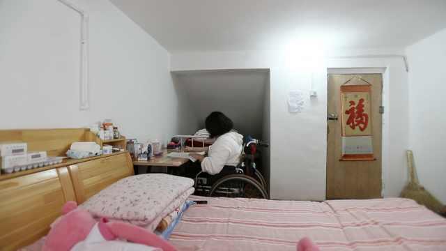 高中為截癱女孩設一樓教室:3年不換