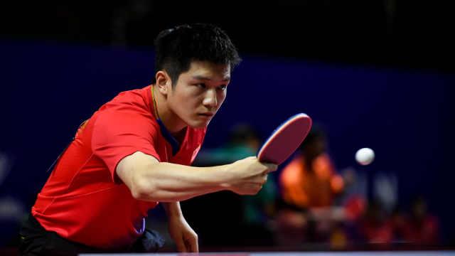 中國男乒橫掃日本,率先挺進決賽