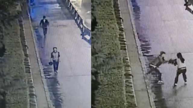 男子尾随抢劫被抓,曾经三次被判刑