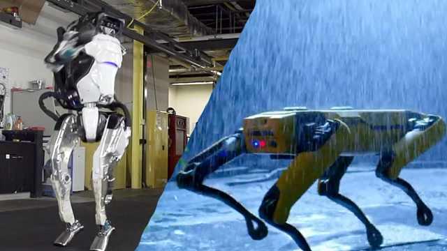 波士顿动力发布机器人逆天新视频
