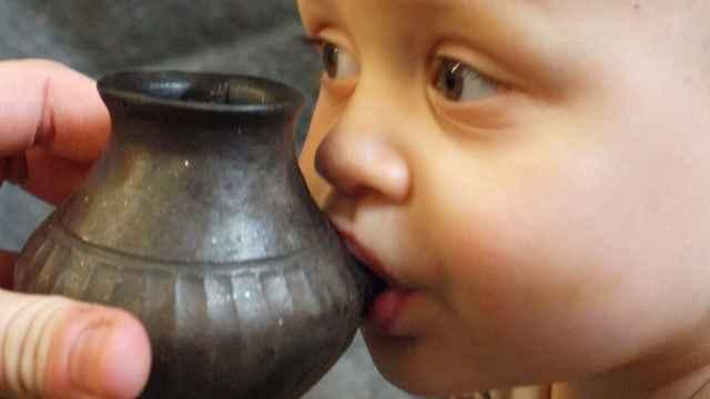 科学家在巴伐利亚发现史前奶瓶