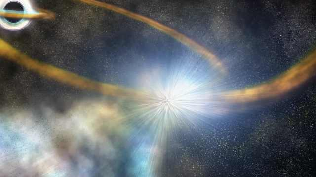罕见!NASA卫星捕捉到黑洞撕碎恒星