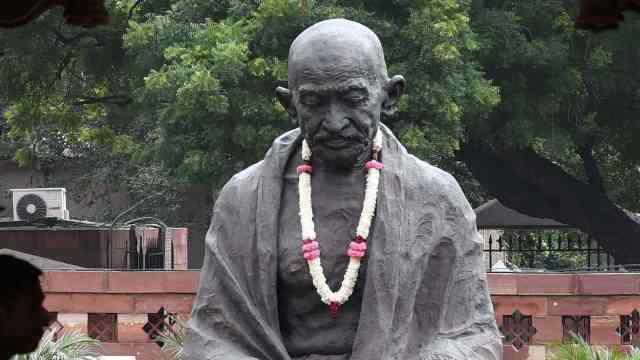 甘地150周年誕辰,紀念館骨灰被盜