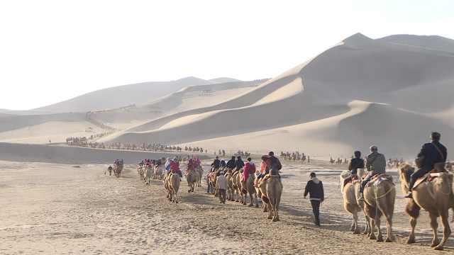 远离城市奔向大漠,敦煌3天迎客8万