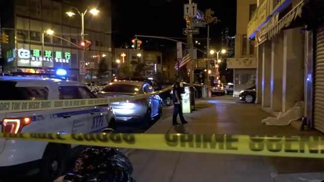 纽约唐人街一晚4名流浪汉被打死