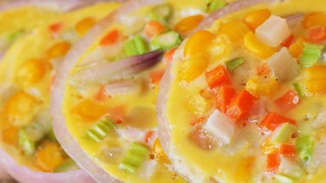 这样煎蛋漂漂亮亮,不需什么厨艺!