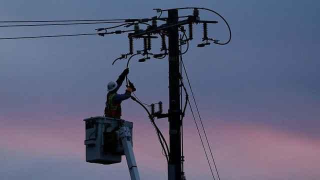 为防山火美国加州80万人将被断电