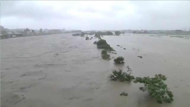 19号台风将登陆日本,460万人避难