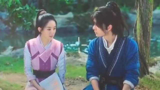 赵丽颖特别照顾演员,内涵王一博?