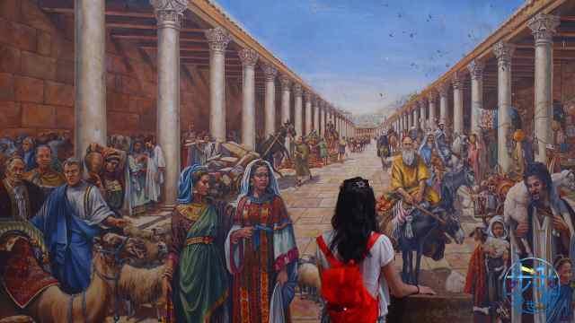 去耶路撒冷千年前的市场赶个集