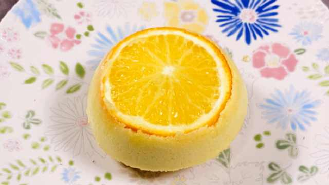 秋日午后来个橙子小蛋糕,橙香扑鼻