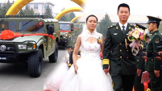 最霸气婚车,25名新娘坐