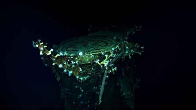 炸沉77年,二战日军航母残骸被发现