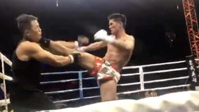 74秒KO咏春大师:对手是有实力的