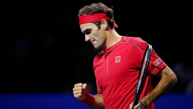 第103个ATP冠军,费德勒赛后落泪