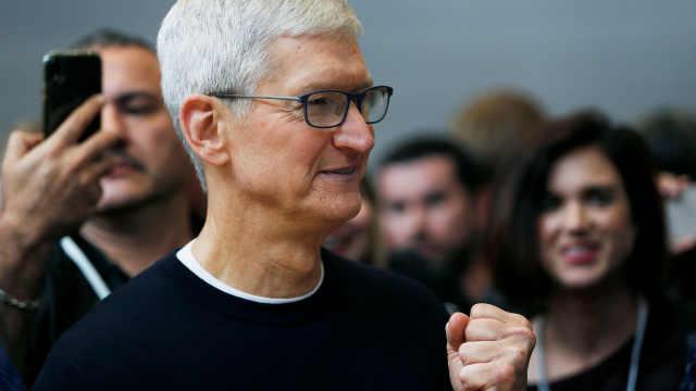 库克:iPhone11已成最畅销iPhone