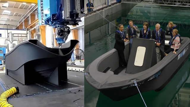 全世界最大的3D打印船