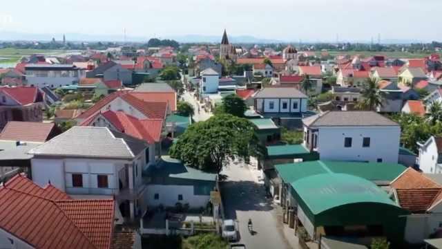 越南富豪村:近1/10村民在国外打工