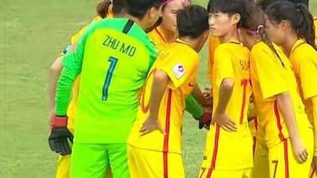 霸气!中国女足5-1实力碾压缅甸