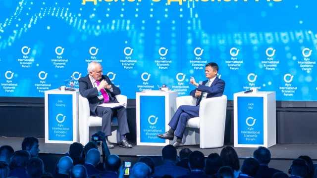 乌克兰总统请马云当年轻人鼓励师