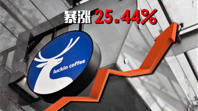 瑞幸咖啡股价暴涨,平均1天开7家店