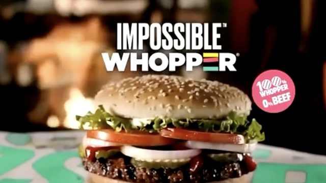 素食者起诉汉堡王:人造肉真肉混烤