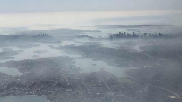 悉尼PM2.5爆表,相当于1天抽32根烟