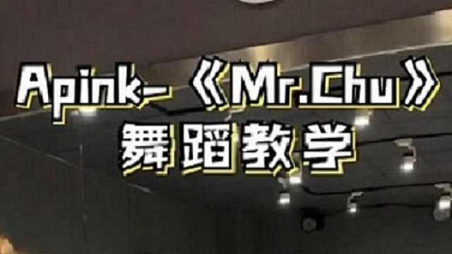 Apink《Mr.Chu》慢速舞蹈教学