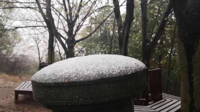 合肥下雪入冬,气象局戏称被打脸了